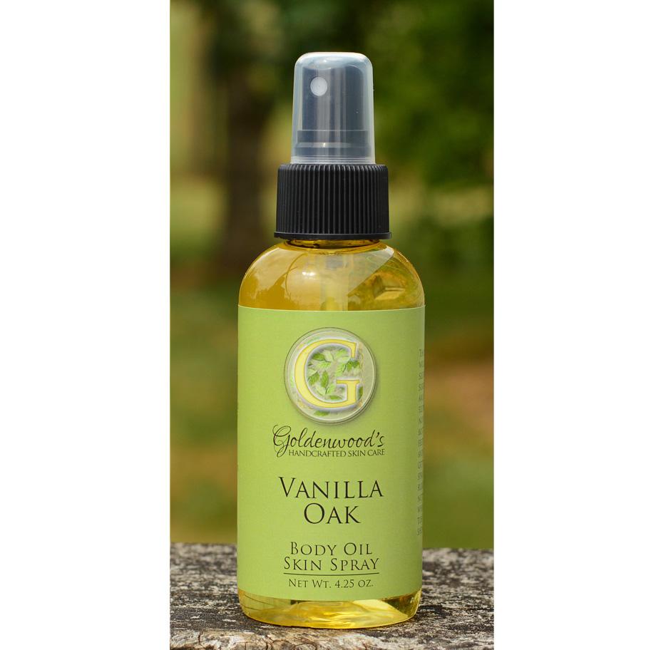 Vanilla Oak Body Oil