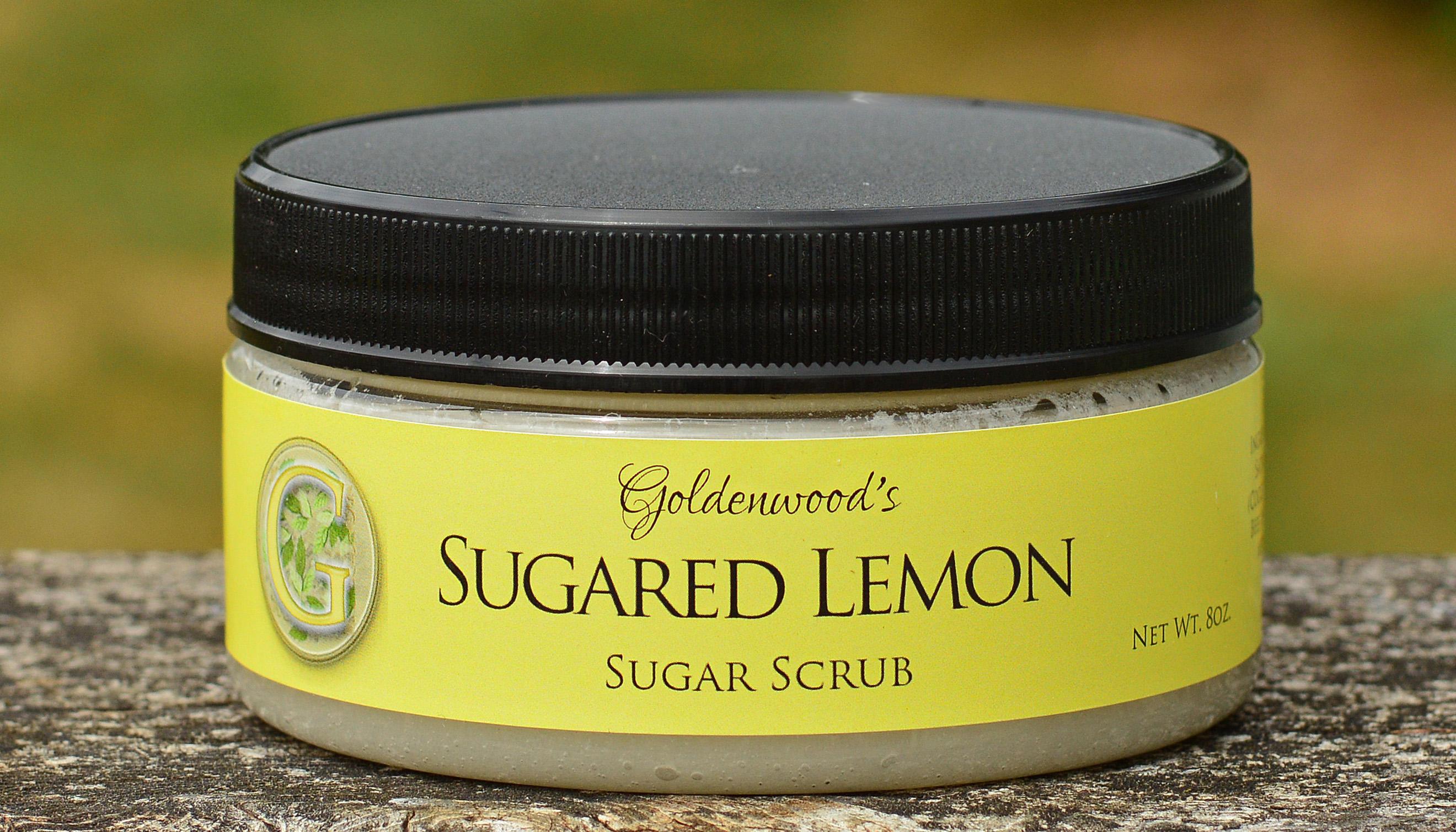 Sugared Lemon Sugar Scrub