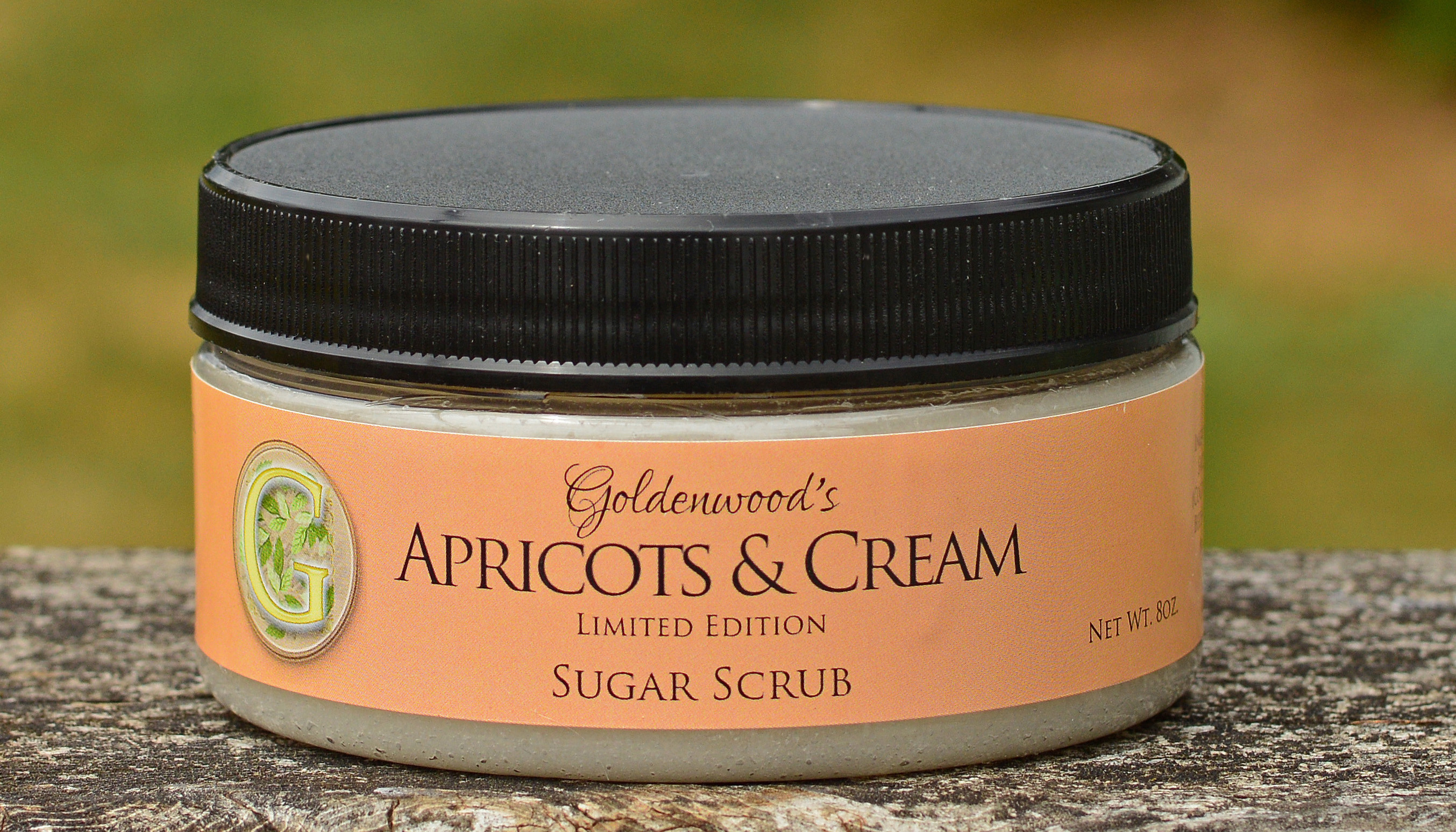 Apricots & Cream Sugar Scrub