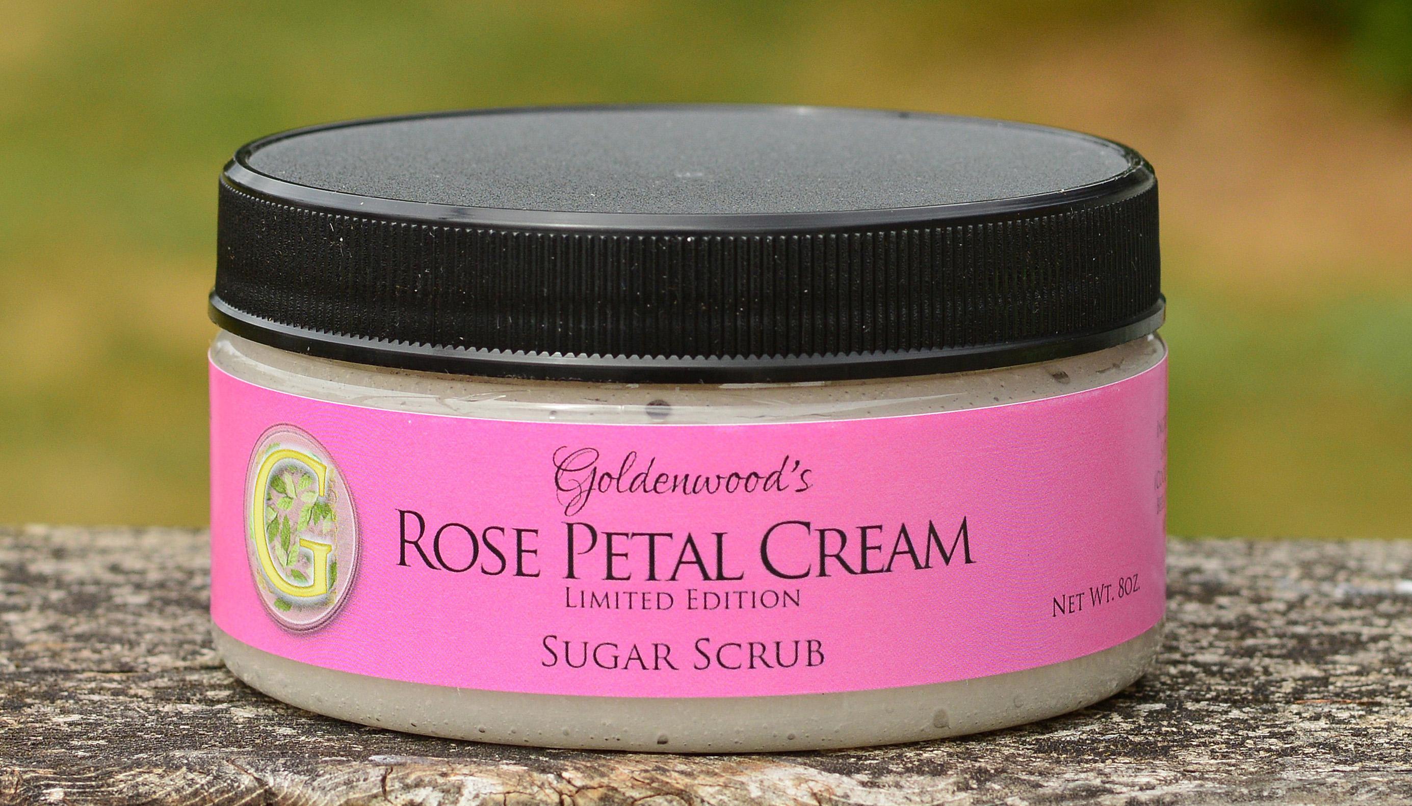 Rose Petal Cream Sugar Scrub
