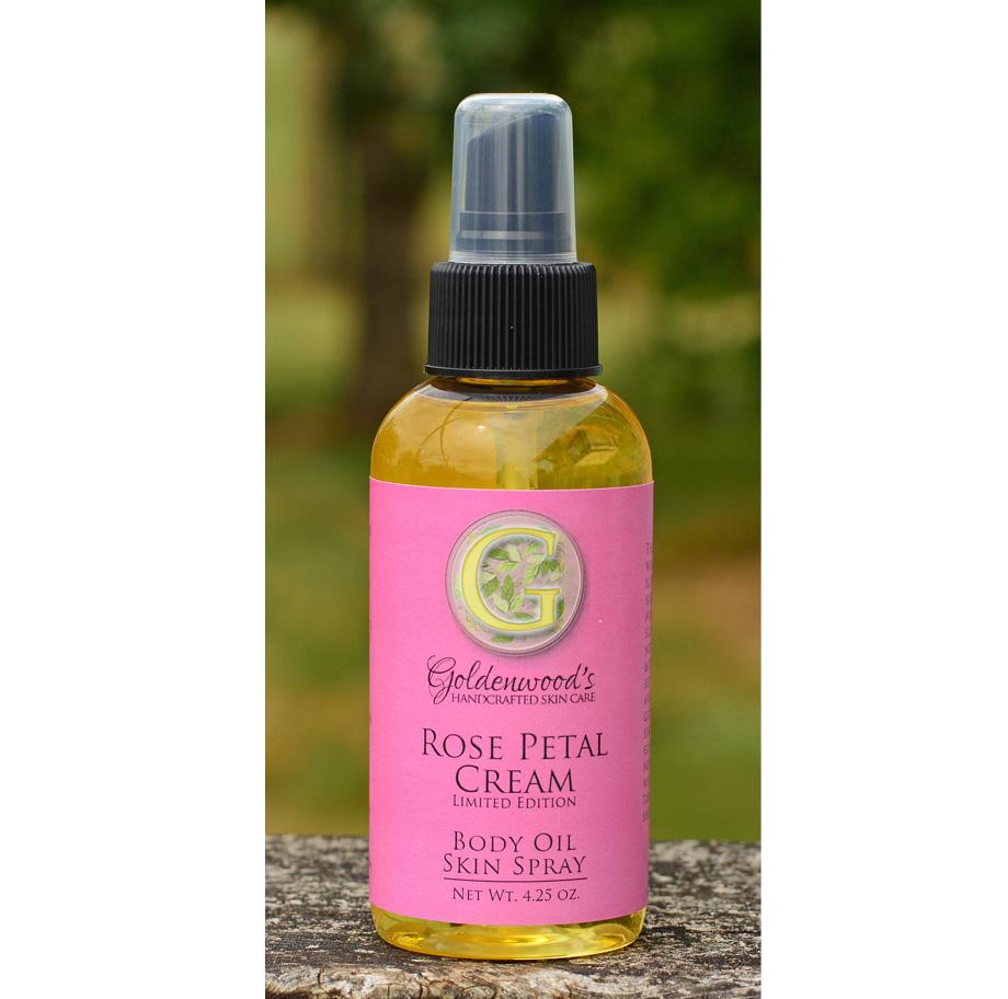 Rose Petal Cream Body Oil  *Limited Edition*