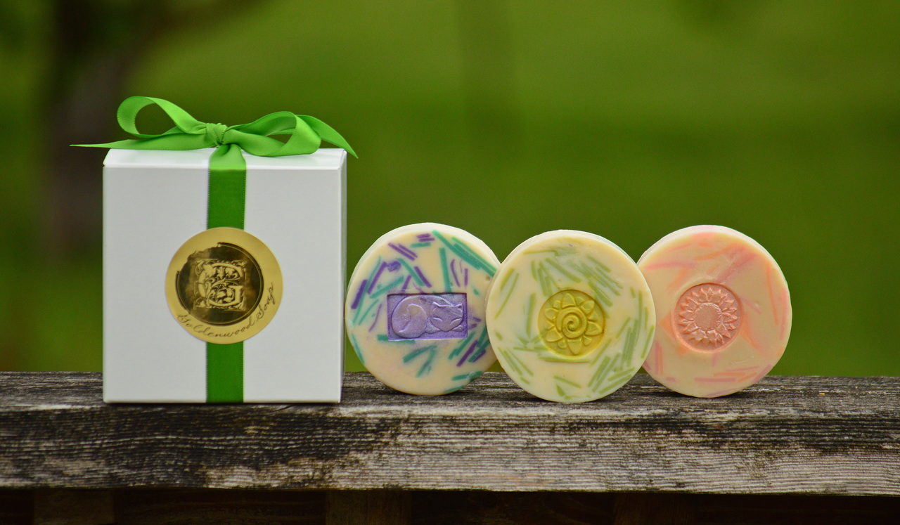 Create Your Own Gift Set #2 - 3 Handcrafted Classic Goat Milk Soaps