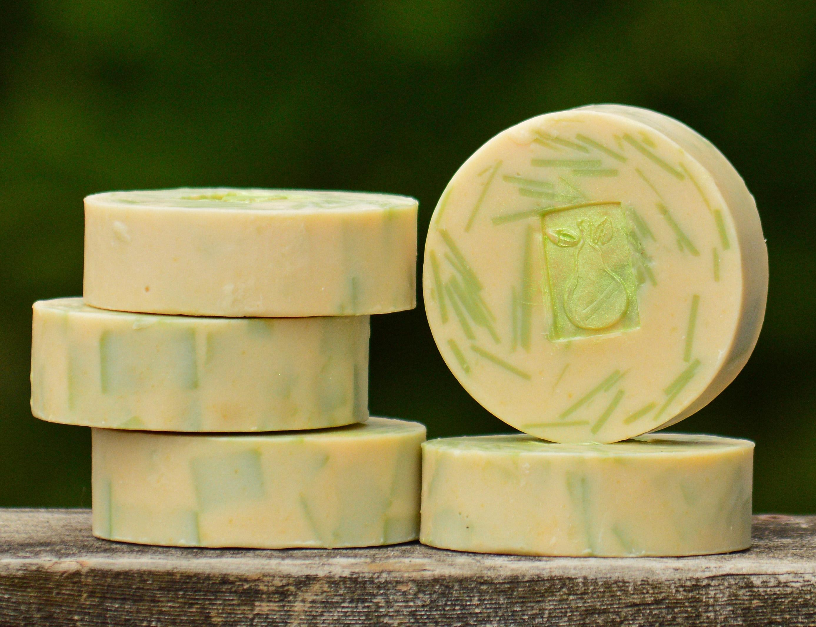 Green Tea & Pear Classic Soap