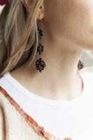 blackberry earrings