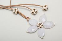white quartz flower