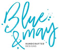 blue & may