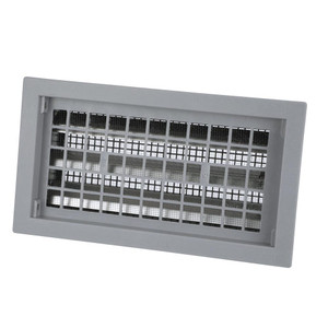 """Automatic Foundation Vent - 16"""" x 8"""" - Gray"""