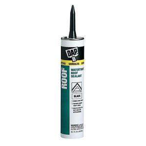 DAP Waterproof Black Roof Asphalt Filler and Sealant - 10.1oz