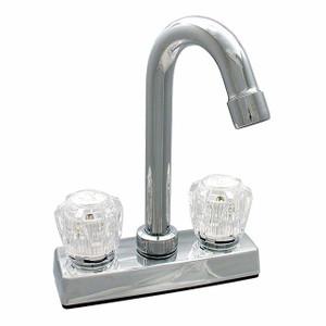 Phoenix Faucets Ledge Mount Bar or Kitchen Faucet 4 Inch Chrome-1