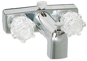 Phoenix Faucets 2-Handle Tub Shower Diverter Faucet with D-Spud Chrome-1