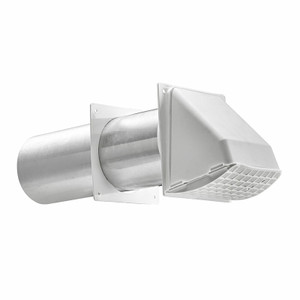 Lambro Industries Dryer Wall Vent Kit with Hood-1