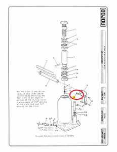 Norco Upper Link Pin for KYB Bottle Jack-1