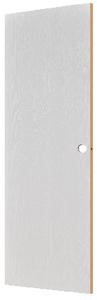 "Wood Grain Embossed Interior Slab Door - White - 80"""