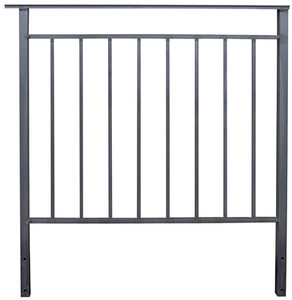 Style Crest Deluxe Back Rail 38 Inch Wide-1