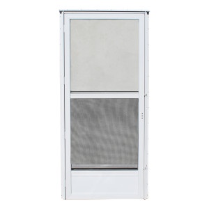 Kinro Mobile Home Storm Door 72 Inch Tall Left Hand White-1