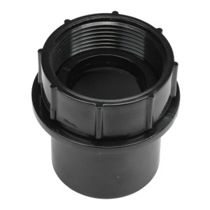 1 1/2 Inch ABS Swivel P-Trap Adapter Tub Strainer  - 1