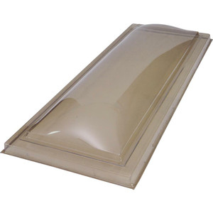 Fox Lite CD Series Polycarbonate Curbmount Traditional Dome Skylight-1