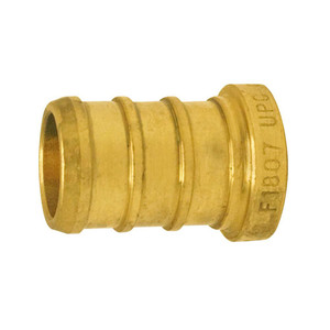 Crown Industries Brass PEX Barb Plug-1