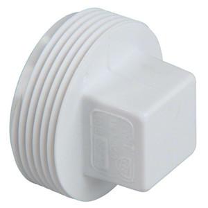 Lesso 3 Inch PVC DWV Threaded Cleanout Plug-1