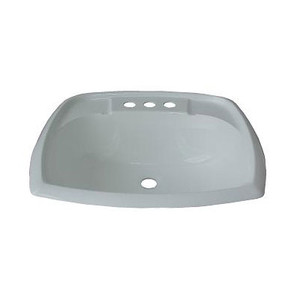 V.P. Products 18 Inch x 21 Inch Rectangle Lavatory Sink-1