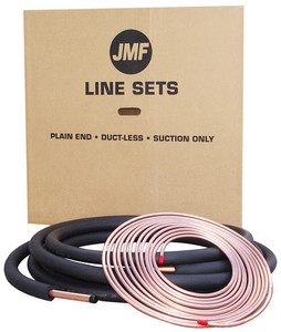 JMF 3 8 Inch x 7 8 Inch Insulated Central Air Plain End Lineset-1