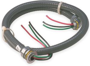 Diversitech 34 Inch x 6 Foot #8 Non Metallic AC Conduit Whip-1