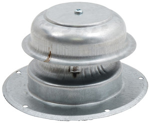 Ventline Plumbing Roof Vent Cap for Flat Roof 5.5 Inch Base-1