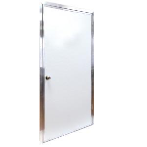 Pocahontas 36 Inch x 80 Inch Commercial Heavy-Duty Steel Mobile Home Door Single Bore-1
