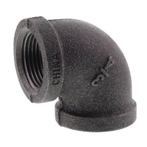 Black Iron 90 Degree FPT x FPT Elbow-1