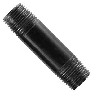 3/4 Inch Black Steel Schedule 40 Nipple-1