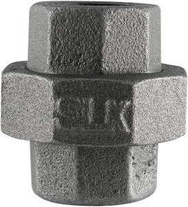3/4 Inch Black Malleable Iron Ground Joint Union-1