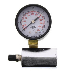 2 Inch PET Economy Gas Test Pressure Gauge (0-30 PSI)-1