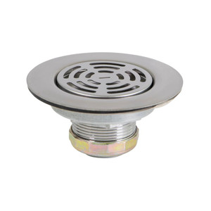3.5 Inch 4 Inch Flat Stainless Steel RV Mobile Shower Strainer-1