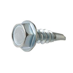 American Bolt & Screw No8 Hex Head Zinc Plated Sheet Metal Screw 1 LB-1