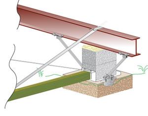 Tie Down Engineering Longitudinal Stabilization Hardware Kit for Concrete-1