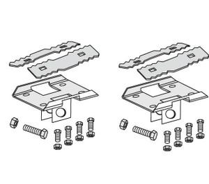 Tie Down Engineering Xi2 Concrete System Longitudinal Hardware Kit for 2 Struts-1