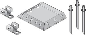 Tie Down Engineering Xi2 Asphalt System Steel Pier Set-1