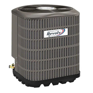 Revolv Revolv 3.5 Ton 13 SEER Mobile Home Air Conditioner Condenser with R410A Refrigerant AccuCharge Quick Connect-1