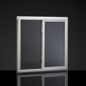 Mi Windows Horizontal Sliding Dual-Pane Mobile Home Vinyl Window - White - 1