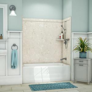 Flexstone Elite Bathtub Wall Surround Kit - Calabria - 1
