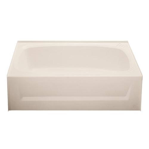 "54"" x 27"" Mobile Home Standard ABS Bathtub - Almond - 1"