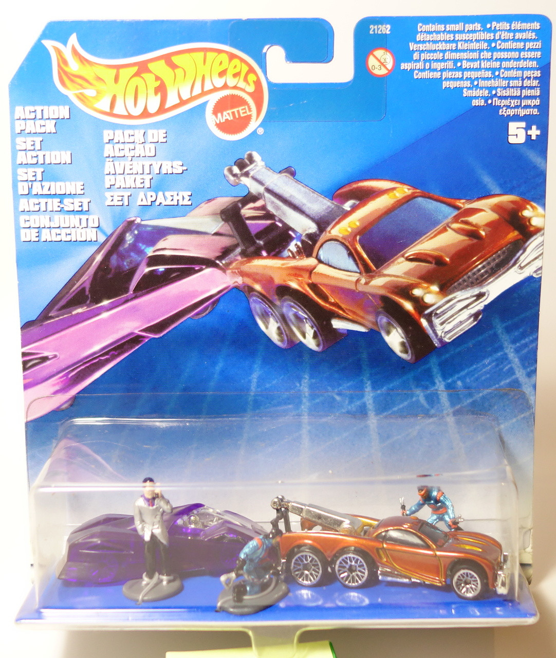 Wonderbaarlijk Hot Wheels International Action Pack EW-27