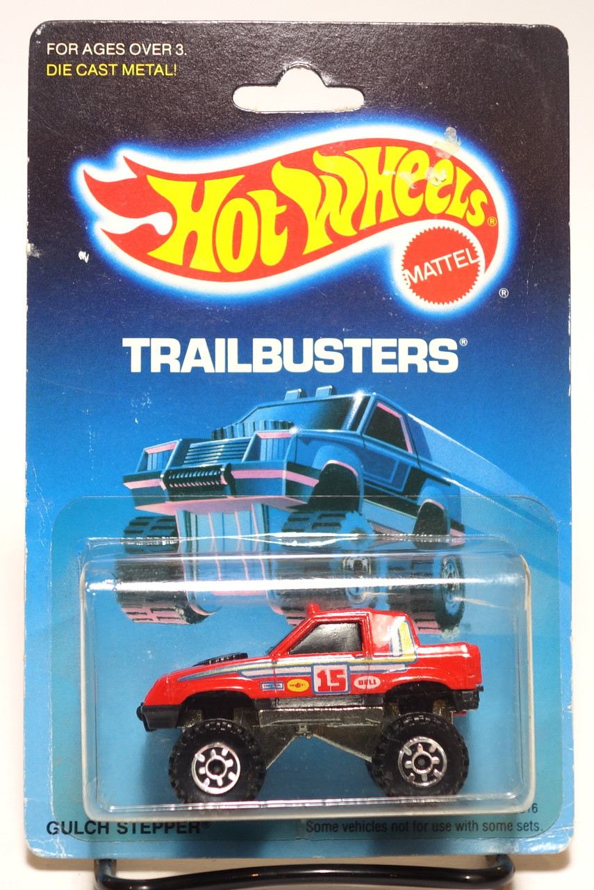 Red with Black Windows Hot Wheels Gulch Stepper 4x4 Pickup Malaysia 1995