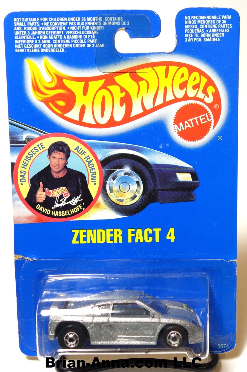 Uitgelezene Hot Wheels German Promo - David Hassellhoff Zender Fact 4, HOC LK-54