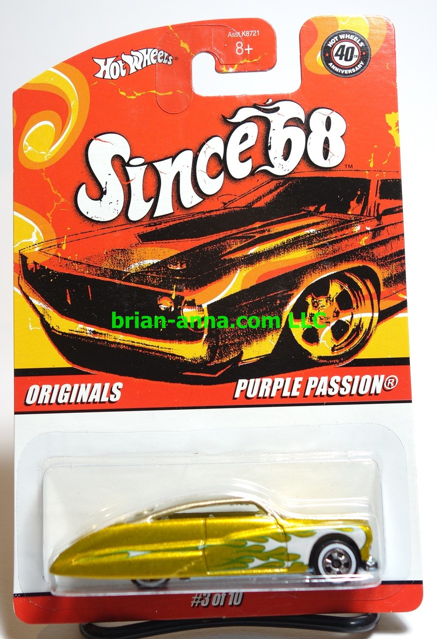 Since 68 Top 40 Hot Wheels car set loose /'32 Ford Vicky