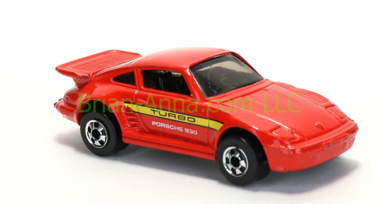 Issued In 1991 As Coll 139 This Porsche 930 Comes In Red With Yellow Black