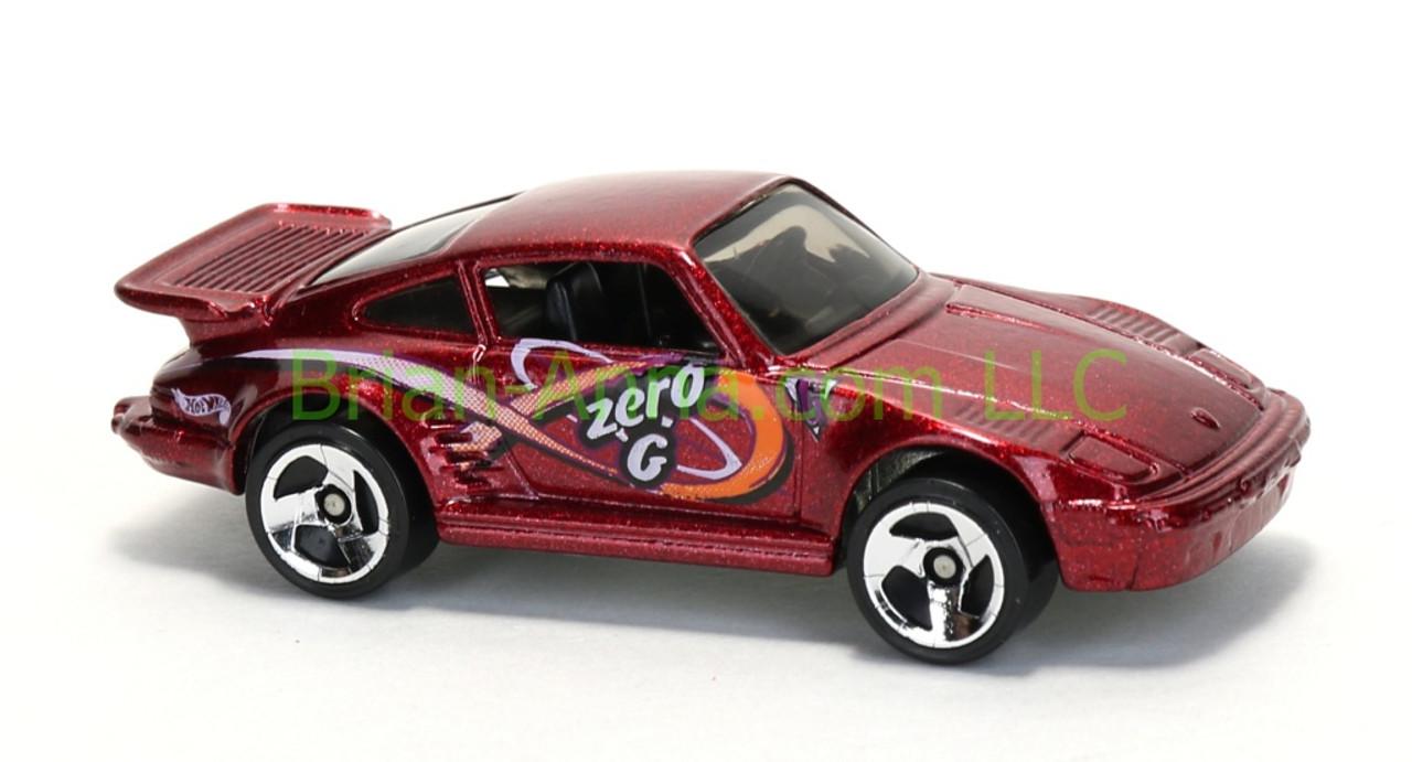 Hot Wheels Porsche 930 Turbo Red Sp3 Wheels Malaysia Base Loose