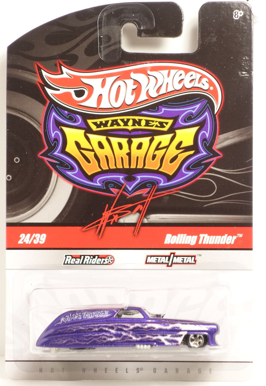 Hot wheels waynes garage