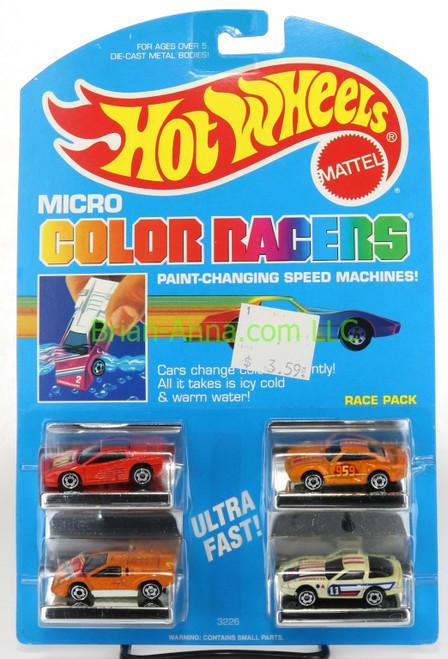 Hot Wheels Color Racers Color Changers
