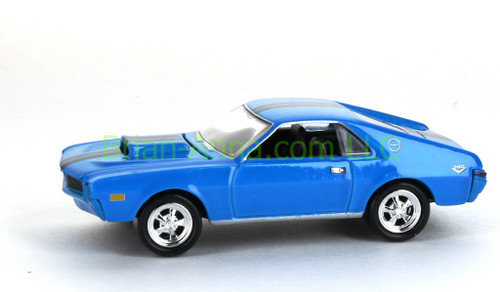 Hot Wheels 1969 AMX, Blue, Non Mint, loose (2168)